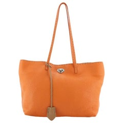 Fendi Selleria Carla Tote Leather Small