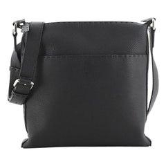 Fendi Selleria Flat Messenger Leather Medium