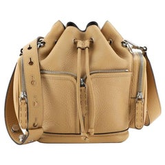 Fendi Selleria Mon Tresor Bucket Bag Leather Small