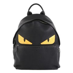 Fendi Selleria Monster Backpack Leather Large