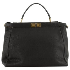 Fendi  Selleria Peekaboo Bag Soft Leather Large