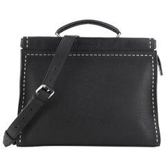 Fendi Selleria Peekaboo Fit Bag Leather Regular
