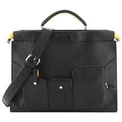 Fendi  Selleria Peekaboo Utility Bag Leather Regular