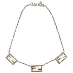 FENDI 'The Fendista' Cuff Bracelet and Necklace set