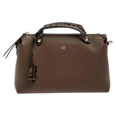 Fendi Tobacco Leather By The Way Medium Bag