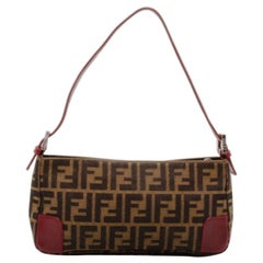 Fendi Tobacco Zucca Small Shoulder Bag