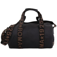 Fendi Vintage Logo Duffle Bag Nylon Small