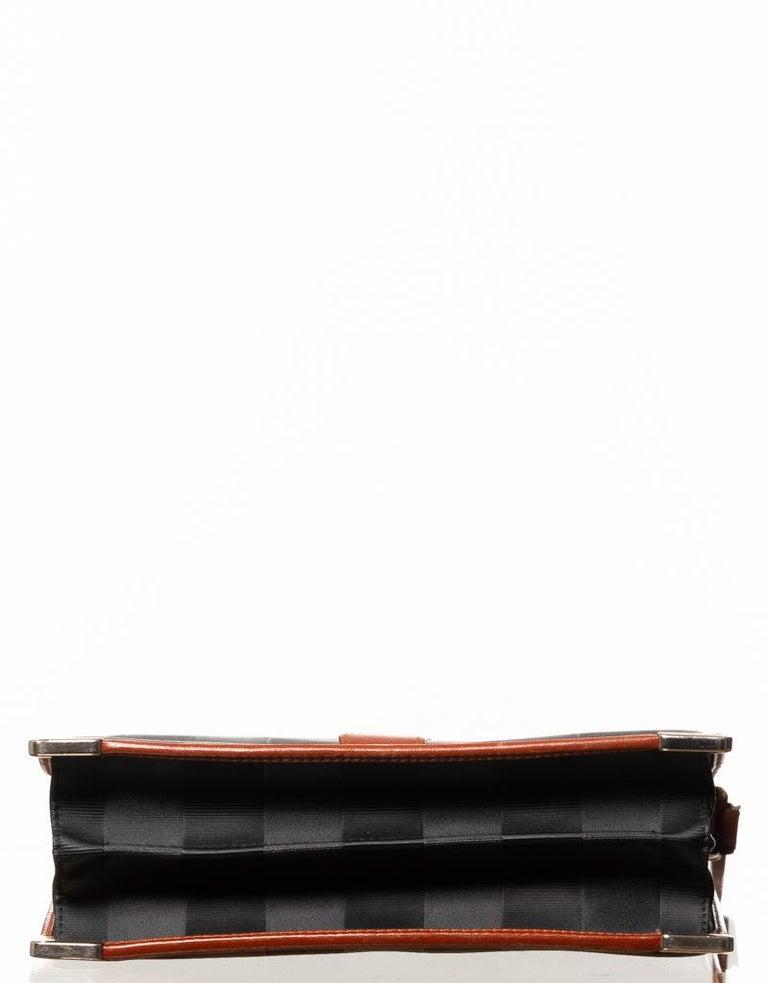Women's or Men's Fendi Vintage Navy Striped Messenger Bag For Sale