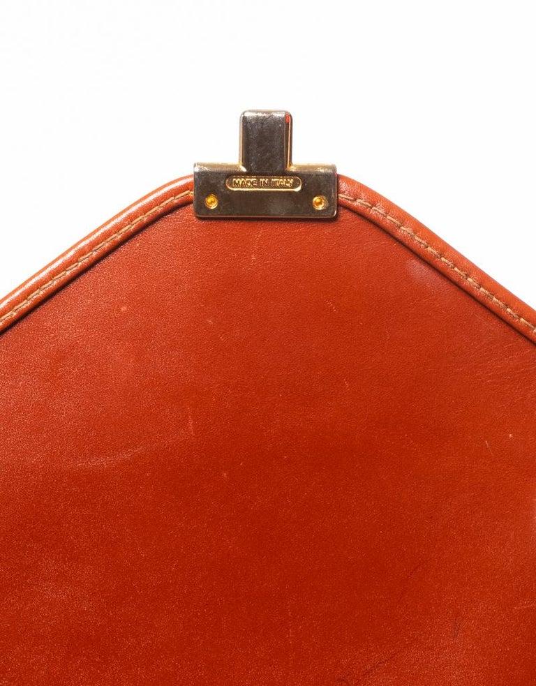 Fendi Vintage Navy Striped Messenger Bag For Sale 4