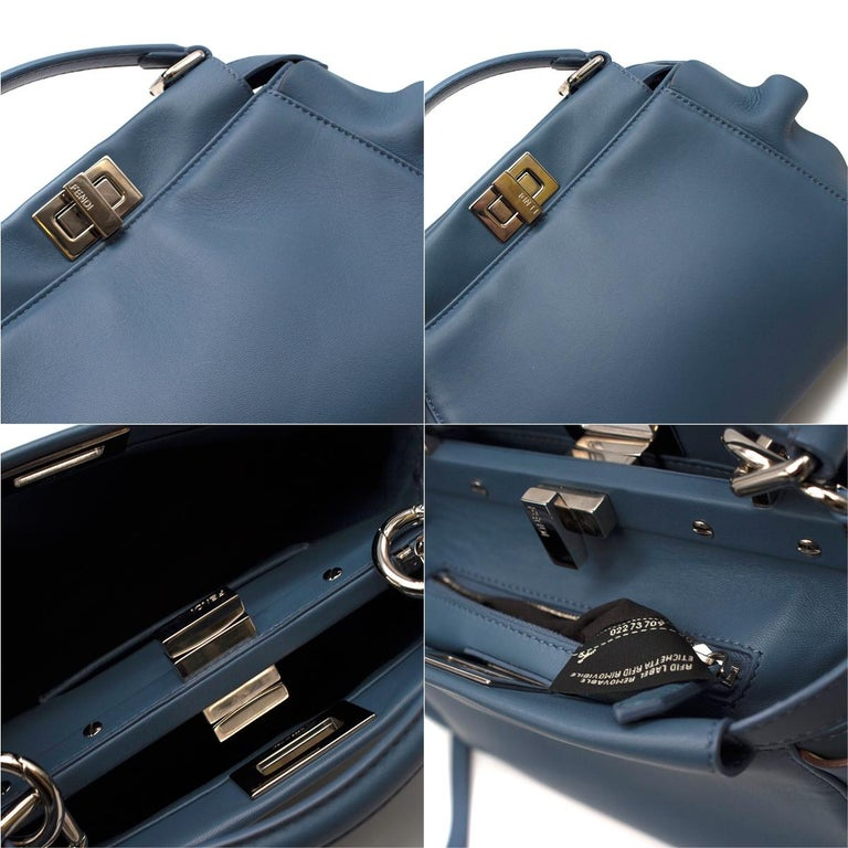 88879db9b6 Fendi Wave Peekaboo Micro Bag - Limited edition For Sale at 1stdibs