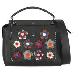 Fendi Woman Handbag Dot Com Black Leather