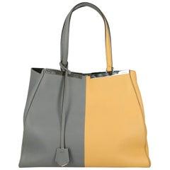 Fendi Woman Shoulder bag 3Jours Grey Leather