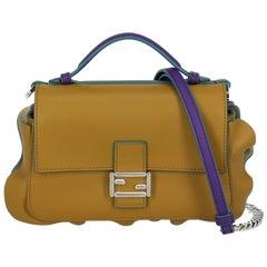 Fendi Woman Shoulder bag Baguette Camel Color Leather
