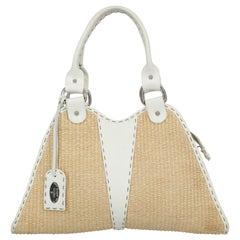 Fendi Woman Shoulder bag Beige Eco-Friendly Fabric