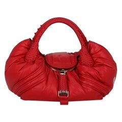 Fendi Woman Shoulder bag Spy Red Synthetic Fibers