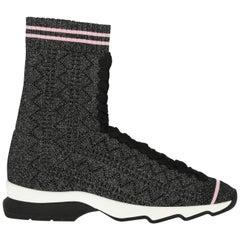 Fendi Woman Sneaker Black IT 37