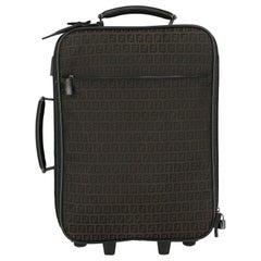 Fendi Woman Travel bag Black Leather