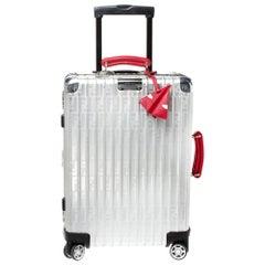 Fendi x Rimowa Zucca FF Logo Aluminum Rolling Suitcase