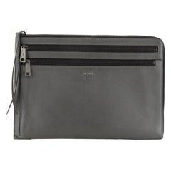Fendi Zip Pouch Leather Large