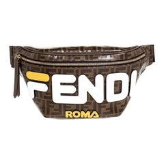 Fendi Zucca Coated Canvas Mania Belt Bag