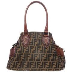 Fendi Zucca du Jour Handbag