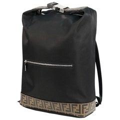 FENDI Zucca Mens ruck sack Daypack 7VZ044 A4ND F147M black