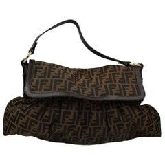 Fendi Zucca Monogram Shoudler Bag