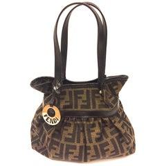 Fendi Zucca monogram small handbag