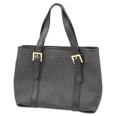 FENDI Zucchino tote bag Womens handbag black