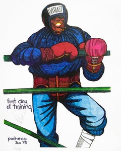 FIRST DAY OF TRAINING (BOXING)