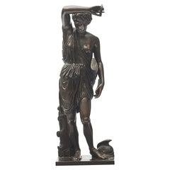 Ferdinand Barbedienne Bronze Sculpture of Diana of Gabii