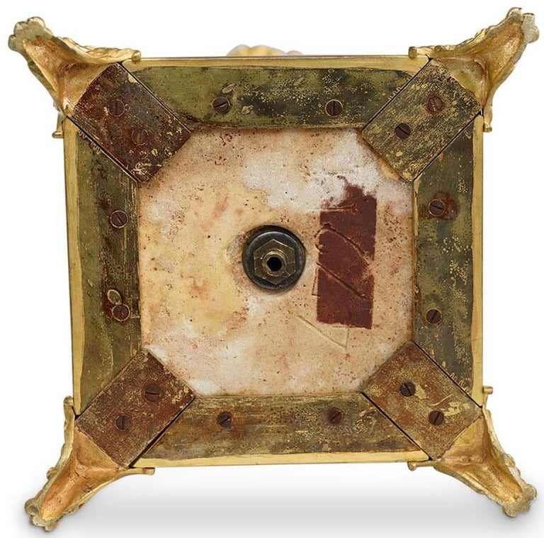 Ferdinand Barbedienne Pair of Marble & Ormolu Urn Low Tables For Sale 11