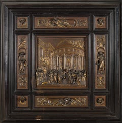 "The Story of Joseph after Lorenzo Ghiberti's ""Gates of Paradise,"" Florence"