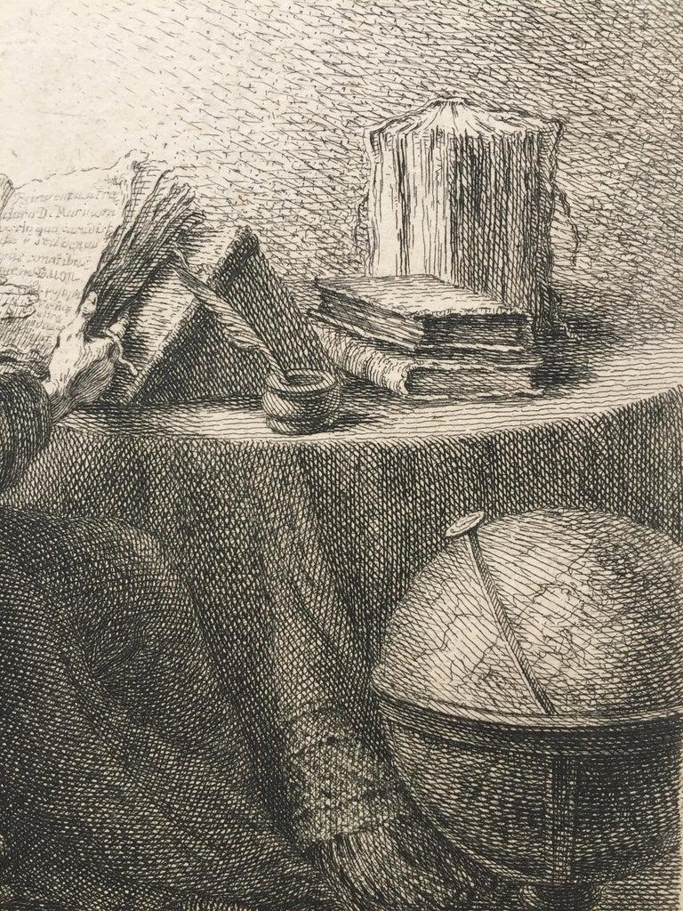 (PHILOSOPHER READING) - Print by Ferdinand Bol