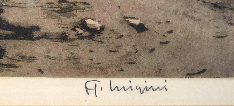 Le Route en Hiver by Ferdinand-Jean Luigini   3