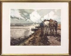 Le Route en Hiver by Ferdinand-Jean Luigini