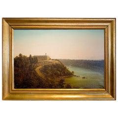 Clifton House Hotel Niagara Falls Painting by Ferdinand Richardt
