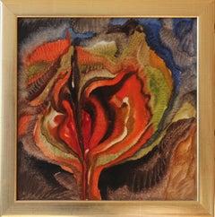 Oil on Hardboard, Floral Composition by Ferdinand Springer