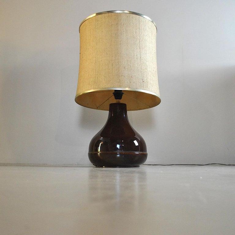 Ferlaro Ceramic Italian Midcentury Table Lamp 5
