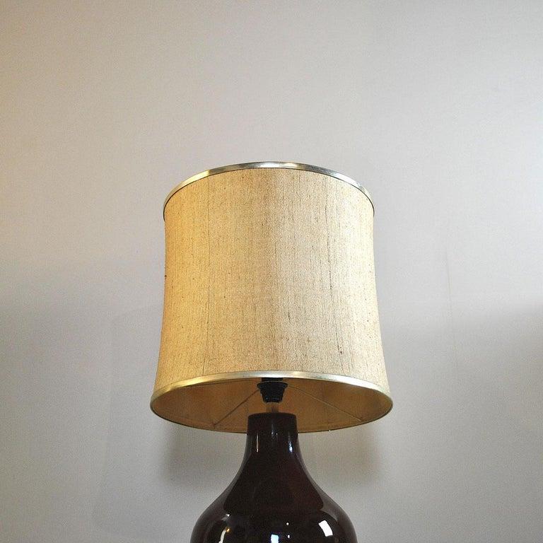 Ferlaro Ceramic Italian Midcentury Table Lamp 6