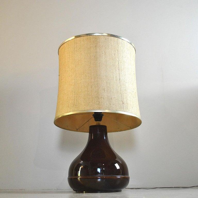 Ferlaro Ceramic Italian Midcentury Table Lamp 7