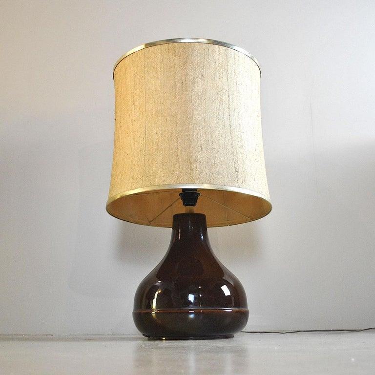 Ferlaro Ceramic Italian Midcentury Table Lamp 8