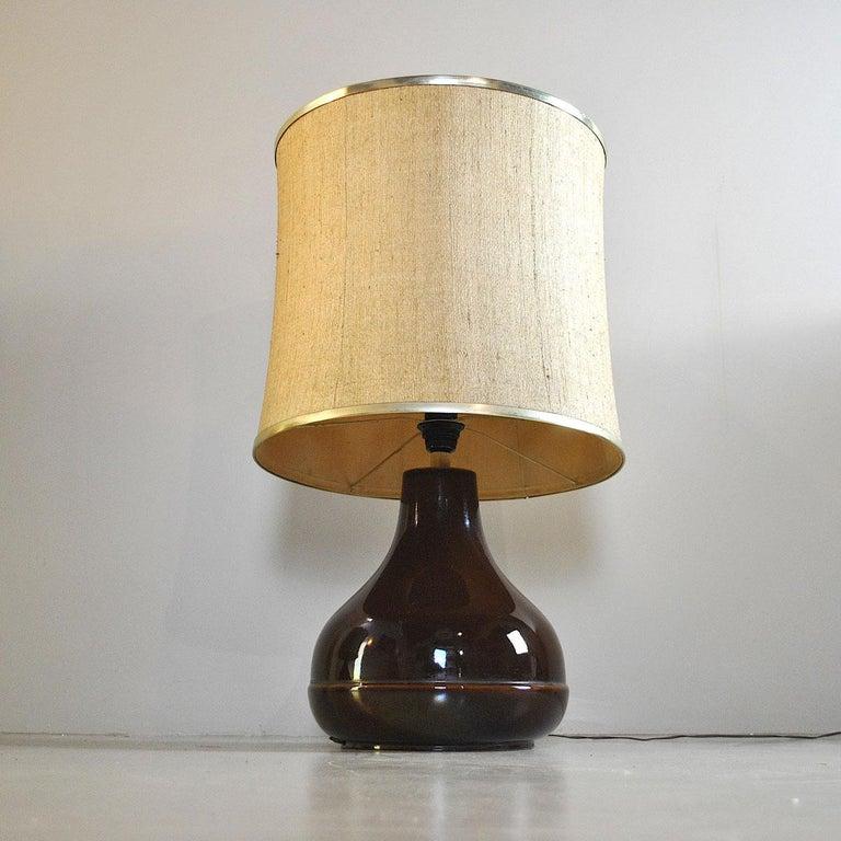 Ferlaro Ceramic Italian Midcentury Table Lamp 9
