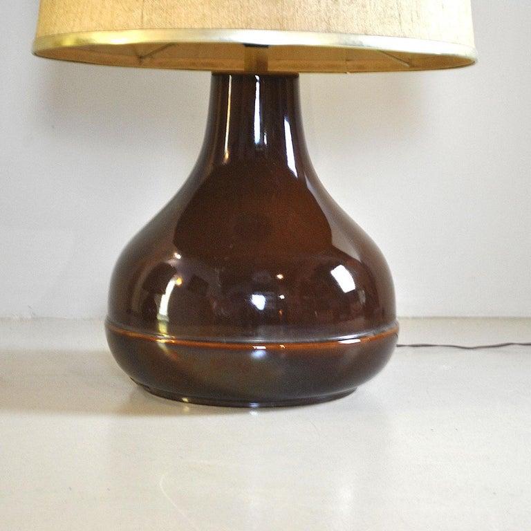 Ferlaro Ceramic Italian Midcentury Table Lamp 10
