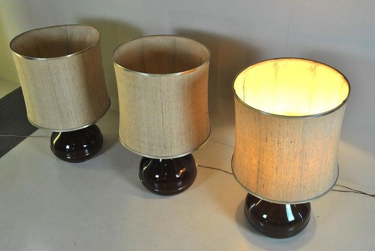 Mid-20th Century Ferlaro Ceramic Italian Midcentury Table Lamp