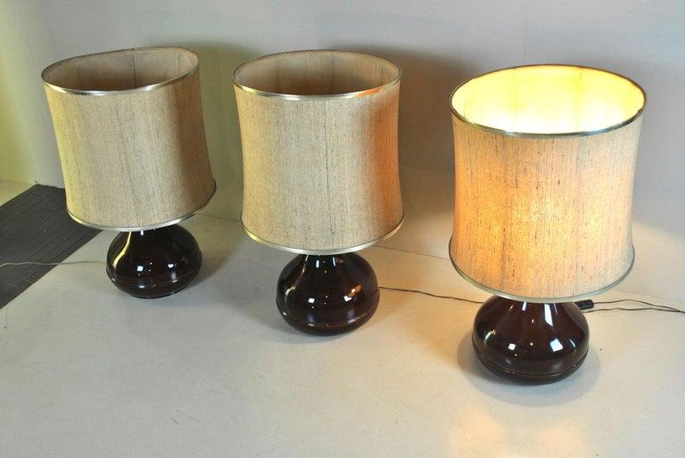 Ferlaro Ceramic Italian Midcentury Table Lamp 1
