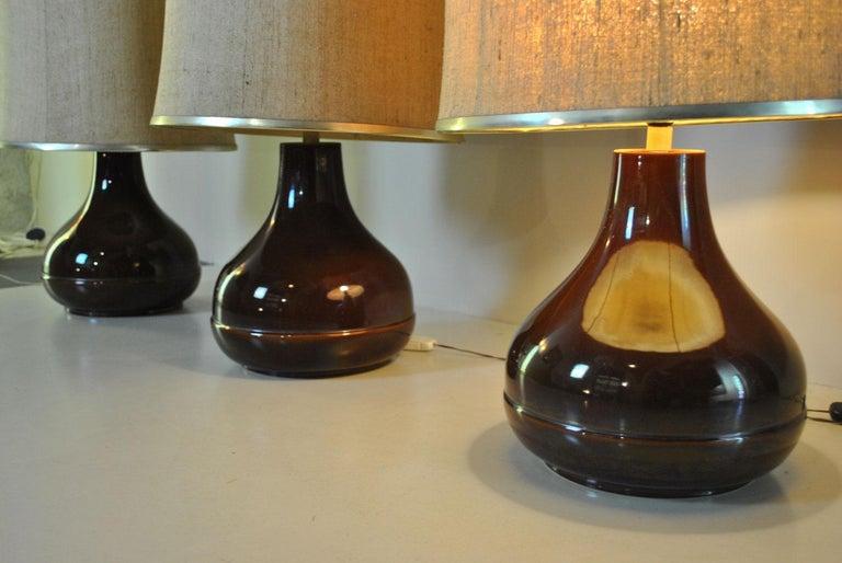 Ferlaro Ceramic Italian Midcentury Table Lamp 3
