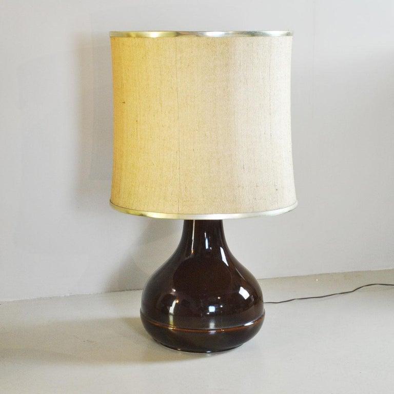 Ferlaro Ceramic Italian Midcentury Table Lamp 4