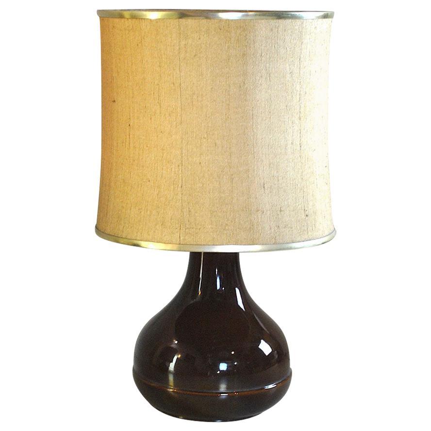 Ferlaro Ceramic Italian Midcentury Table Lamp