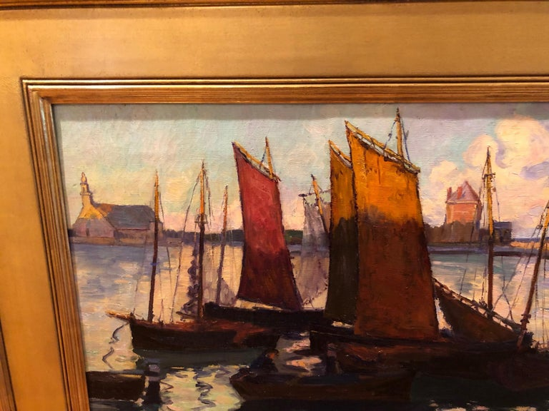 American Fern Isabel Coppedge, Gloucester Harbour For Sale